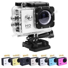 """SJ4000 1.5"""" Screen 12MP 1080P Full HD H.264 Waterpoof Sports DV with Mount Suite for GoPro EVC-284694"""