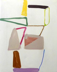 non-objective painting: Vincent Hawkins