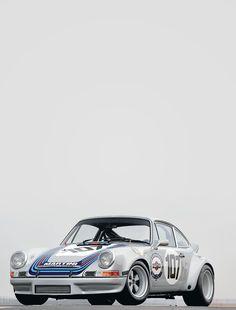 """Porsche 911 Carrera RS 2.7, mejor conocido como """"Cola de Pato"""" por el alerón característico de este modelo."""