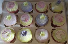 Katelyns cupcake collection.  Pastels and sugar lace make this such a pretty range for a little girl.
