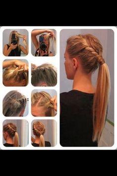 Beautiful with . - hair style | auf fashionfreax kannst du neue Designer, Marken & Trends entdecken.