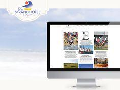 Auf der Insel Sylt gibt es viel zu sehen! Was genau ist auf der Internetseite des Strandhotels zu sehen...