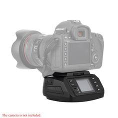 Tripod AD-10 Automatic Panoramic Head Electronic Camera 360 Degree Automatic Motorized Tripod Ballhead for Canon/ Nikon/ Sony/Pentax DSLR Cameras