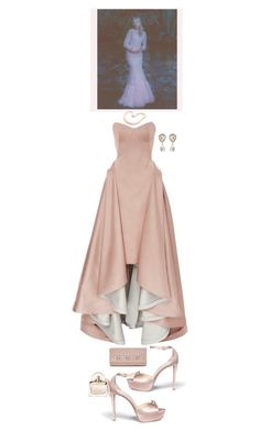 """Elegant style"" by nicolesynth ❤ liked on Polyvore featuring Amira, Zac Posen, Jimmy Choo, Hiho Silver and Dolce&Gabbana"