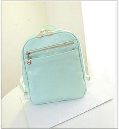 Fashion Women Backpack Bag 2015 PU Leather Women Backpack Designers Brand for Teenage Girl (BB02-15)