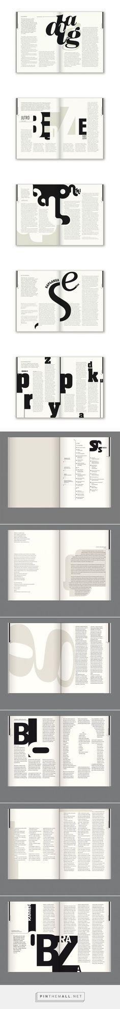 Editorial Design: Bluszcz Magazine: