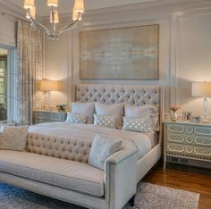 50 awesome master luxurious bedrooms idea on a budget 33 - Home Decor Interior Master Bedroom Design, Dream Bedroom, Home Bedroom, Bedroom Couch, Bedroom Designs, Luxury Master Bedroom, Master Bedroom Furniture Ideas, Beds Master Bedroom, Luxury Bedroom Design