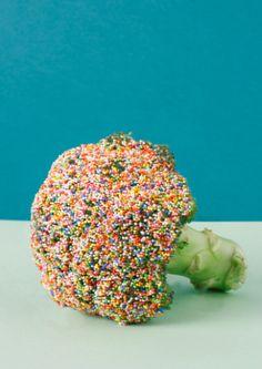 ~ eat your rainbow broccoli ~