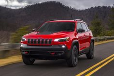 """Jeep Ramps Up Sales Pitch Jeep was recently awarded """"Cult Brand"""" status by the Society of Cult Brands. It was another pop culture win for the iconic auto brand. Now Jeep is rolling out a multi-pronged. Jeep Cherokee Trailhawk, Jeep Suv, Jeep Cars, Honda Motorcycles, Cars And Motorcycles, Cars Characters, Car Posters, Poster Poster, Compact Suv"""