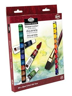 Royal  Langnickel Watercolor Artist Tube Paint 12ml 24Pack * You can find more details by visiting the image link-affiliate link. #Arts& Crafts on SALE