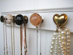 Wall Mounted Jewelry Organizer