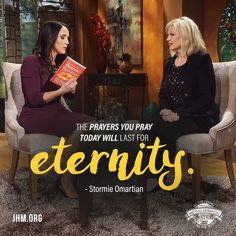 """You may feel like you don't have a big inheritance to leave your children, but your prayers are a spiritual inheritance that will last for the rest of their lives."" —Stormie Omartian, Guest on The Difference #StormieOmartian #TheDifference #PowerOfPrayer #Prayer #Family #Children"