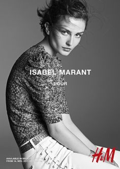 isabel marant hm campaign16 Isabel Marant for H&M Campaign with Daria Werbowy, Milla Jovovich, Alek Wek + More
