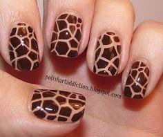 giraffe mani  - Love!