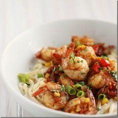 Cajun Shrimp Alfredo - #foodie #foodporn #recipe cooking #recipes