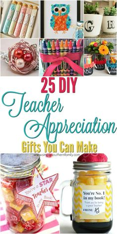 Don't forget to tell your child's teacher how amazing they are and that they are doing a fantastic job teaching your son or daughter. These teachers help impact and shape our youth. Celebrate National Teacher Appreciation Day with a special hand made craf