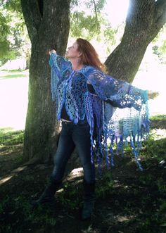 The Wren Fairy's Wingwrap- for SWTC yarns