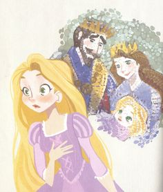 via A Little Golden Book: Tangled.