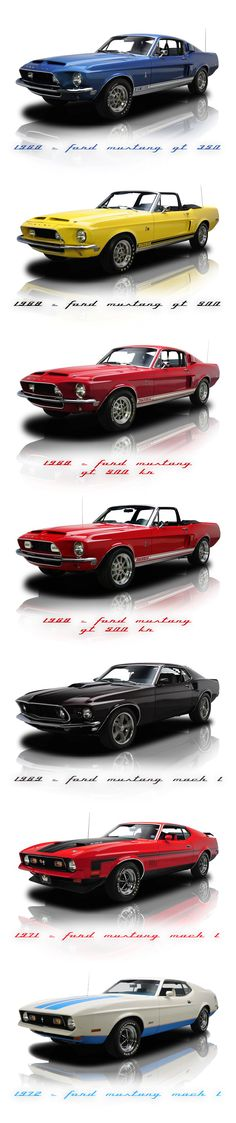 Ford Mustang 60'/70'