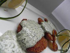 Bruschette with rolled mozzarella (toasted bread, mozzarella cheese, bacon)