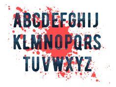 Old Jeans Alphabet designed by Vesna Barlas.