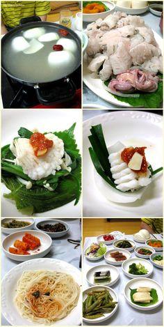 Pike eel restaurant, Yeosu, Korea