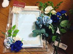 結婚式DIYの味方!プレ花嫁なら必ず買うべき100均の優秀アイテム6選* | marry[マリー] Floral Wreath, Wreaths, Bridal, Frame, Cards, Wedding, Decor, Instagram, Picture Frame
