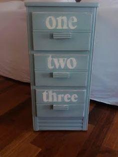 more number on dresser ideas