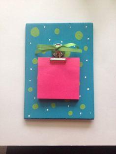 Mini clipboard on Etsy, $10.00