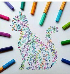 Precision in Geometric Mandala Drawings - Cat. Precision in Geometric Mandala Drawings. Click the image, for more art from lady_meli_art. Dibujos Zentangle Art, Zentangle Drawings, Doodle Drawings, Doodle Art, Zentangles, Pencil Drawings, Mandala Art, Geometric Mandala, Mandala Drawing
