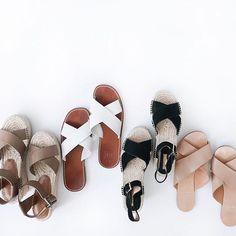 cross cross sandals
