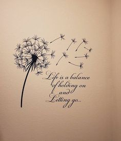 Dandelion Quotes, Dandelion Wall Decal, Dandelion Art, Dandelion Seeds, Inspirational Wall Decals, Wall Art Quotes, Inspirational Quotes, Quote Wall, Couple Tattoos