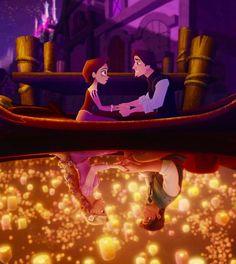Tangled - Rapunzel & Eugene
