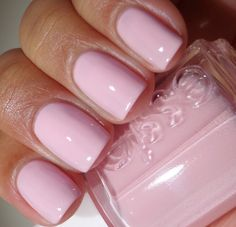 Essie Nail Polish Name Essie Pink Nail Polish, Nail Polish Colors, Pink Manicure, Pretty Nail Colors, Pretty Nails, Love Nails, How To Do Nails, Plain Nails, Natural Nail Polish