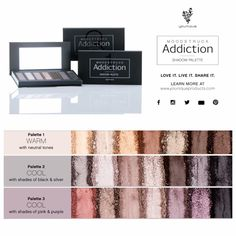 New product launching September 1st! Beautiful palettes! www.makeupbysaraback.com to order