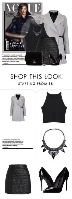 """""""YOINS.com"""" by monmondefou ❤ liked on Polyvore featuring Dolce&Gabbana, Chanel, women's clothing, women, female, woman, misses, juniors and yoins"""