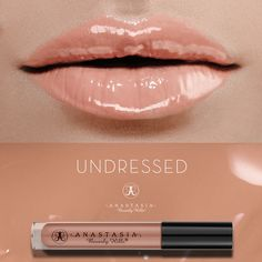 Undressed on the lips. #LipGloss
