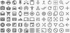 Icons - Style - Google design guidelines