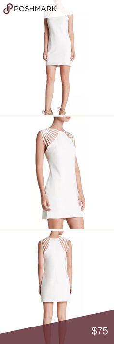 Dress the Population White Dress Size medium. Never worn Dress the Population Dresses