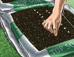 You can get started on bag gardening in no time with this season-by-season, no-dig planting plan. Originally published as