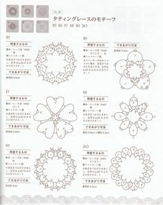 #ClippedOnIssuu from Crochet and tatting lace