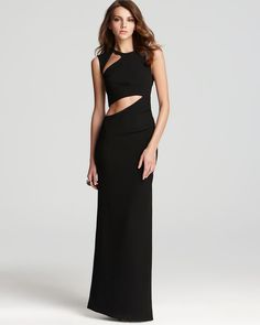 GIMME. BCBGMAXAZRIA Gown - Sleeveless Cutout | Bloomingdale's