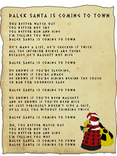 Dalekin joulu