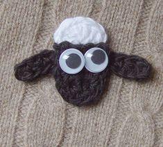 Crochet Shaun the Sheep by meekssandygirl.deviantart.com