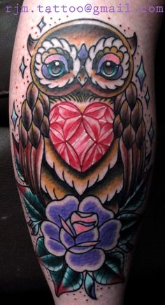 Awesome Owl Tattoo Design For All Time, In respect to placement, owl tattoos are incredibly flexible. If you're selecting an owl tattoo, you're probably going to have to discover the ideal d. Juwel Tattoo, Buho Tattoo, Tattoo Time, Tattoo Flash, Owl Tattoo Design, Tattoo Designs, Tattoo Ideas, Octopus Tattoos, Owl Tattoos