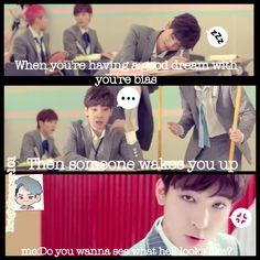 Lol so true #Seventeen #Wonwoo