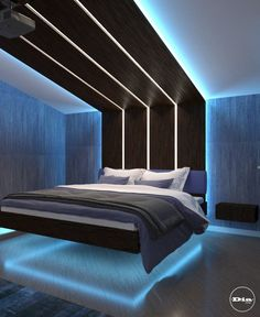 If you enjoy flipping through décor magazines to keep up with the latest trend in bedroom design, you must already be aware of modem bedroom theme. Bedroom False Ceiling Design, Luxury Bedroom Design, Room Design Bedroom, Home Room Design, Dream Home Design, Home Interior Design, Bedroom Designs, Bedroom Styles, Kids Bedroom
