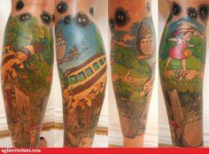 Awesome Totoro Tattoo :)