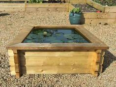 Raised Ponds With Liner 4ft X Pond Beds Garden