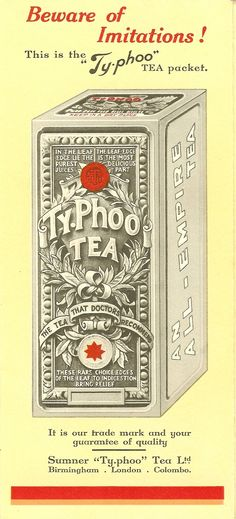 Typhoo has launched this as a limited edition for the Diamond Jubilee.